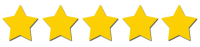 Image of 5 gold stars