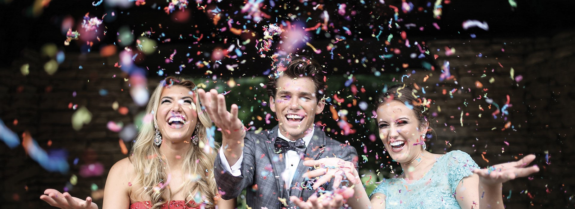 Homecoming confetti image